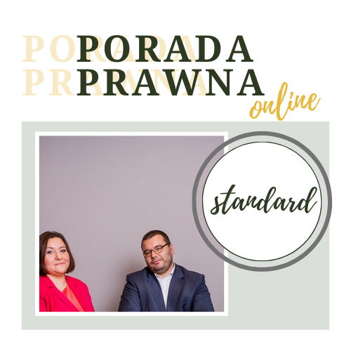 Porada prawna online standard Kancelaria Adwokacka Rafał Bednarczyk