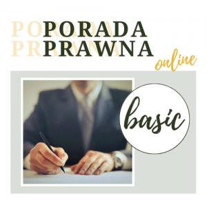 Porada prawna online Basic Kancelaria Adwokacka Rafał Bednarczyk